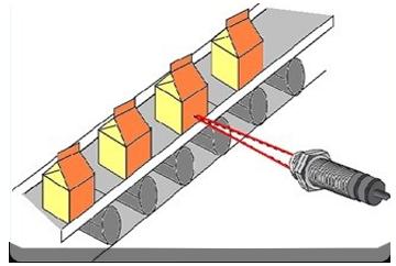 漫反射式实现计数检测