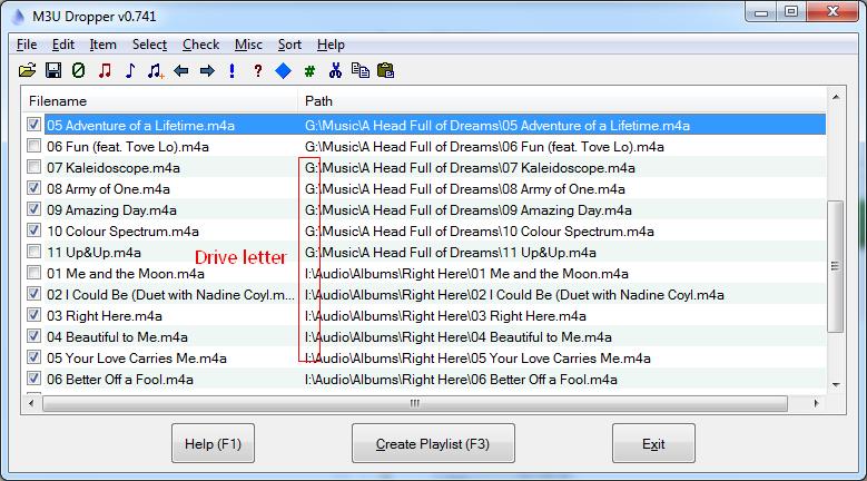 8  How to create external m3u playlists for FiiO X-series