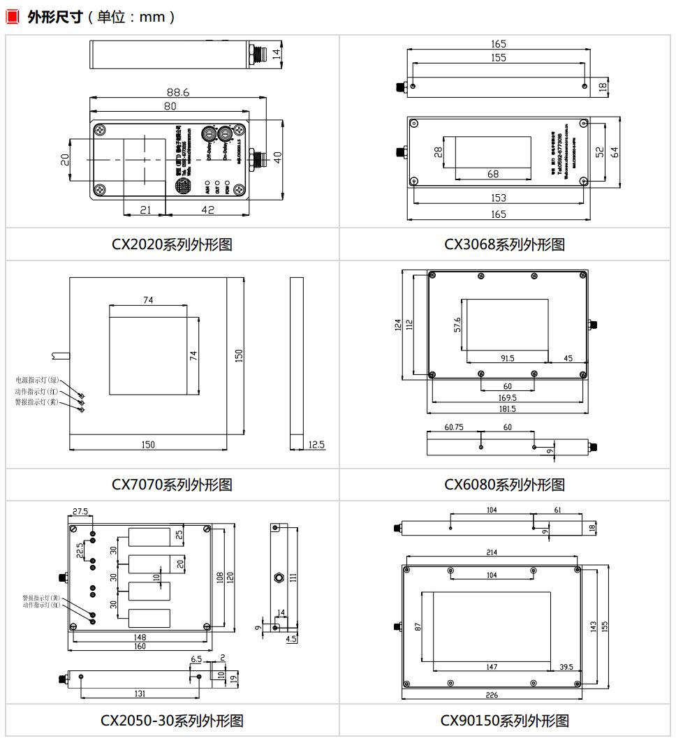 CX外形图