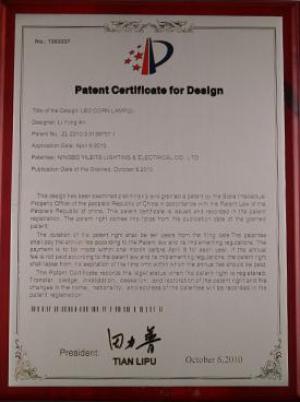PatentCertificateforDesign2