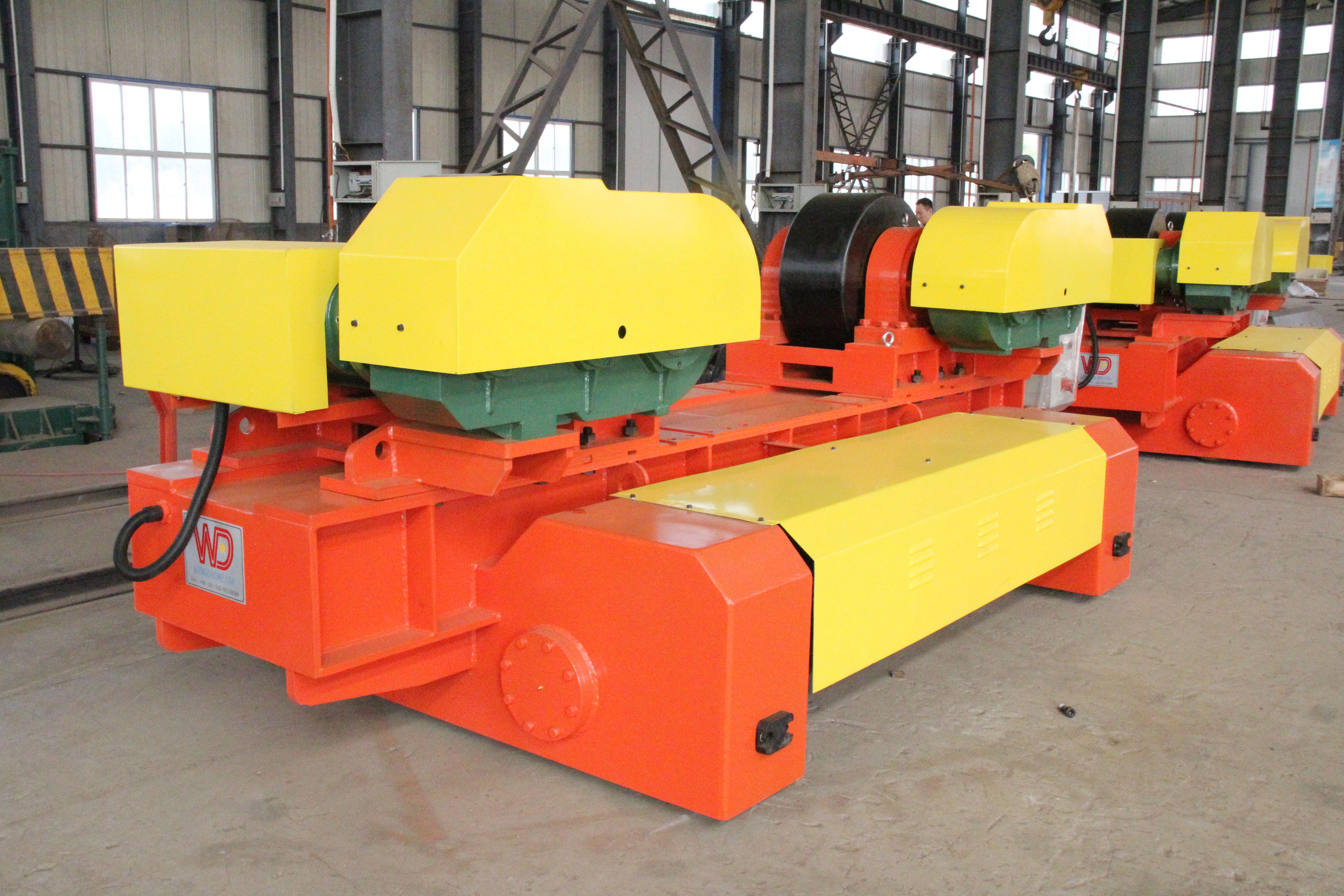 可调式滚轮架-KT-400T电动行走焊接滚轮架-3