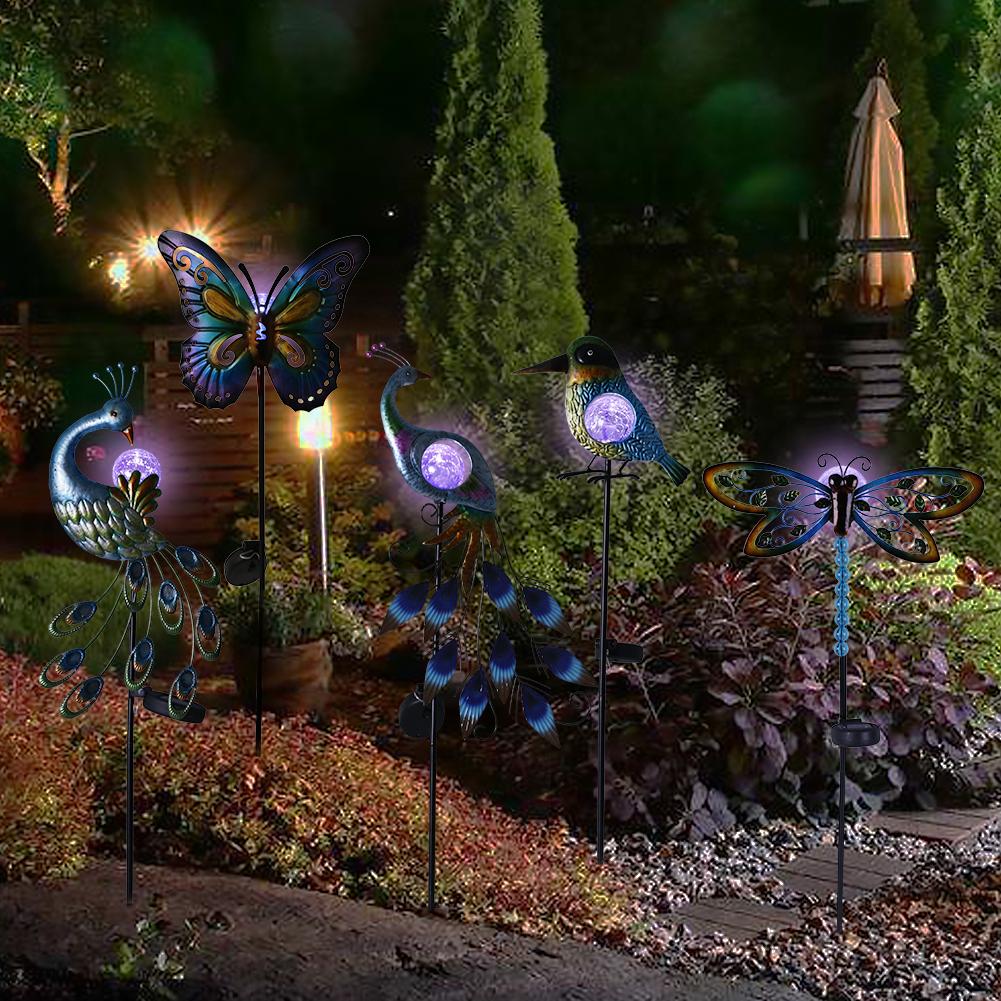 Outdoor Paradise Metal Garden Stake