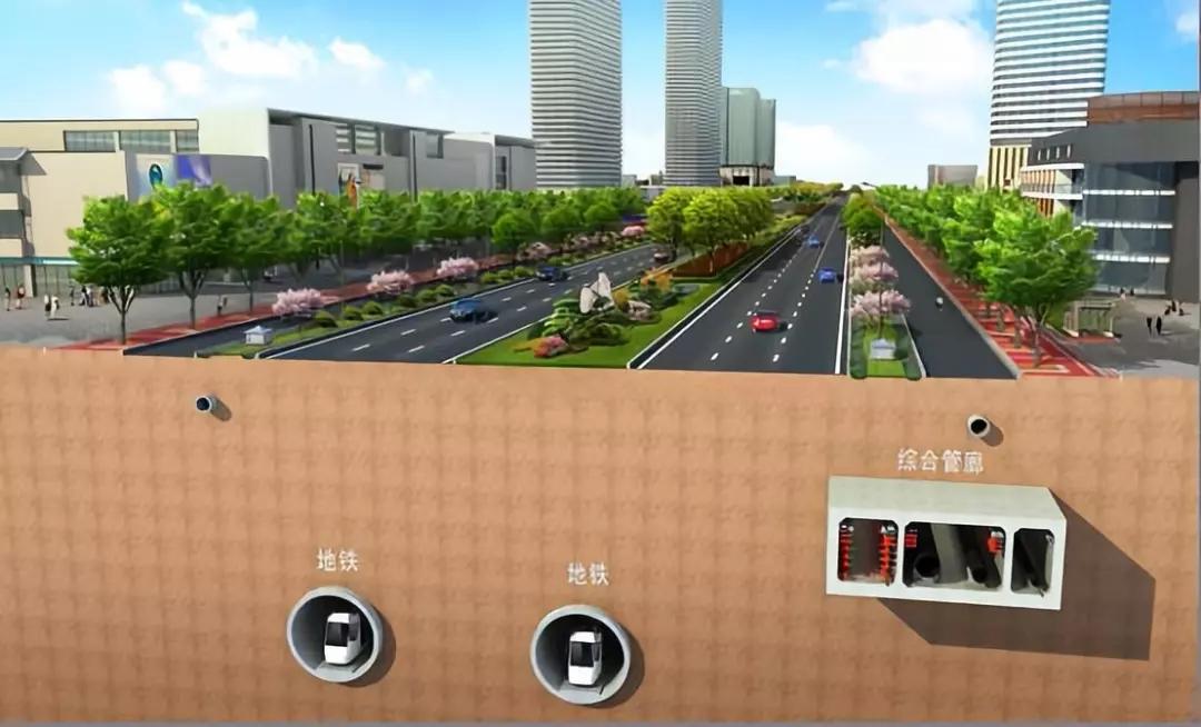 杭州地下綜合管廊項目