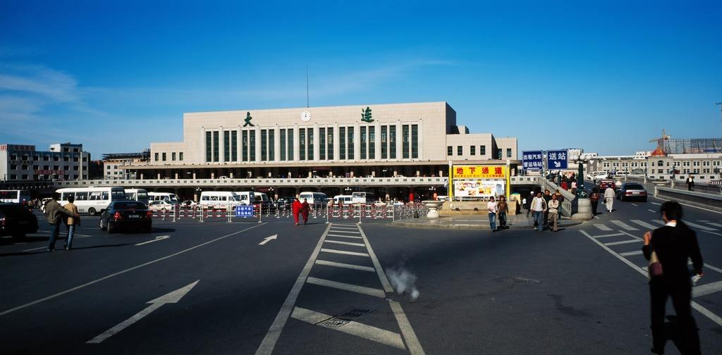 大连火车站