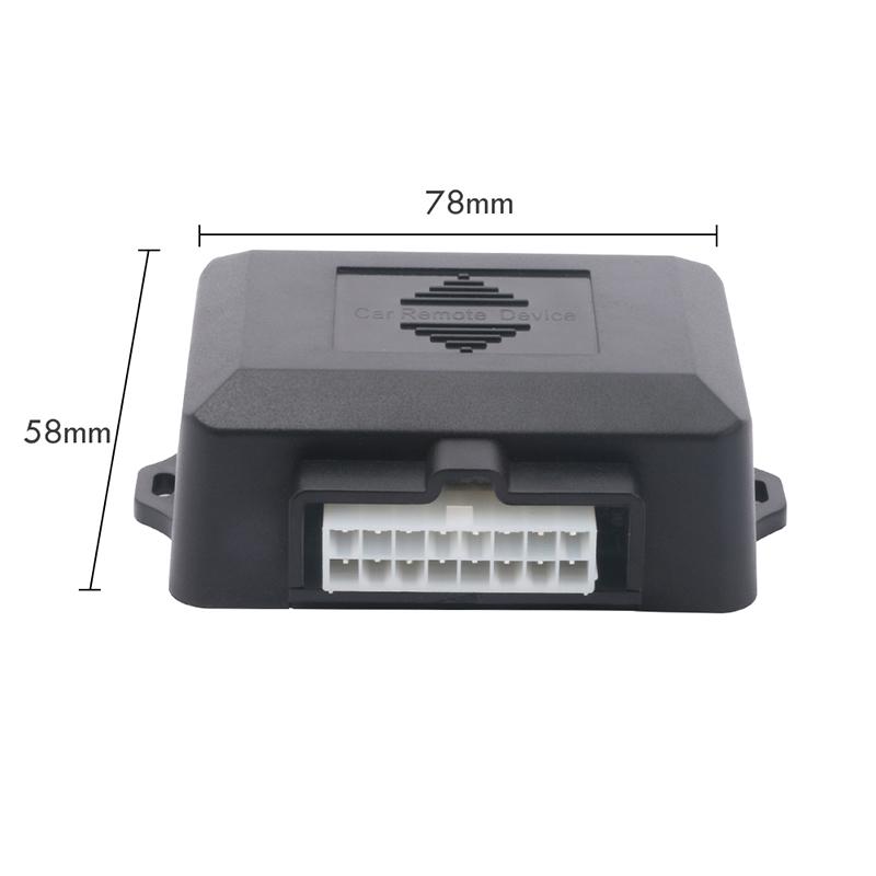 Entry Keyless Go Smart Key Push Button Remote Start Car Alarm Starter