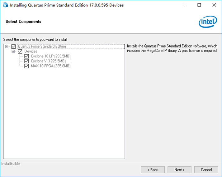Download QMTECH Cyclone10 FPGA by Using Intel Quartus II