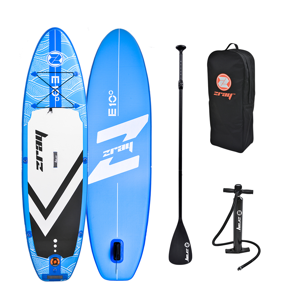 Zray Evasion Deluxe 10.0 SUP Board Stand Up Paddle Surf-Board ALU Paddel ISUP 297cm