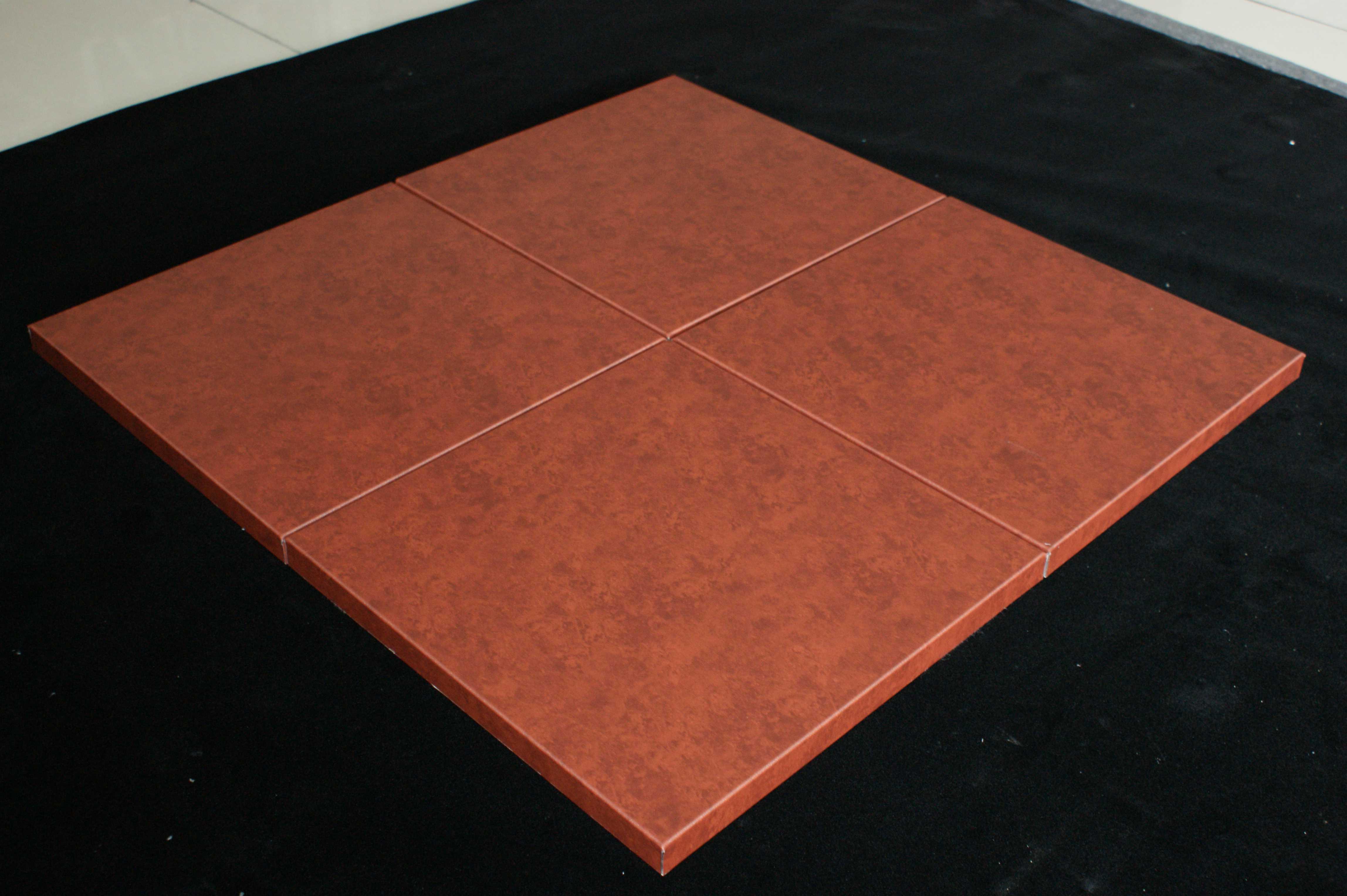 仿石紋鋁蜂窩板