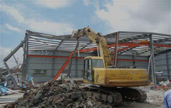 工廠廠房拆除