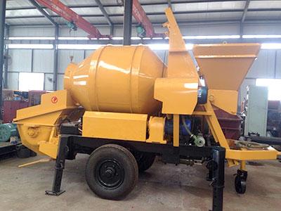 Electric-Concrete-Mixng-Pump