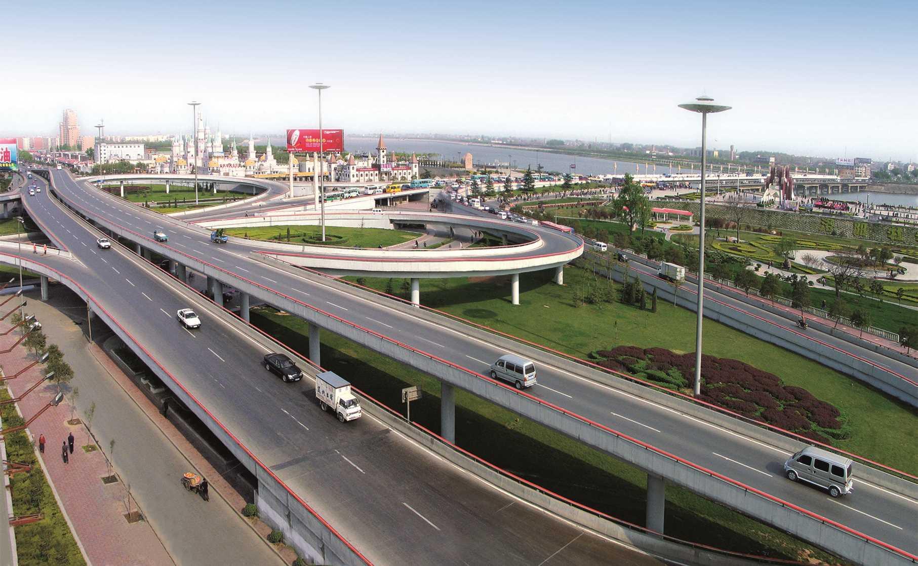 HighwayProjects公路工程——選擇2:洛陽定鼎路立交橋