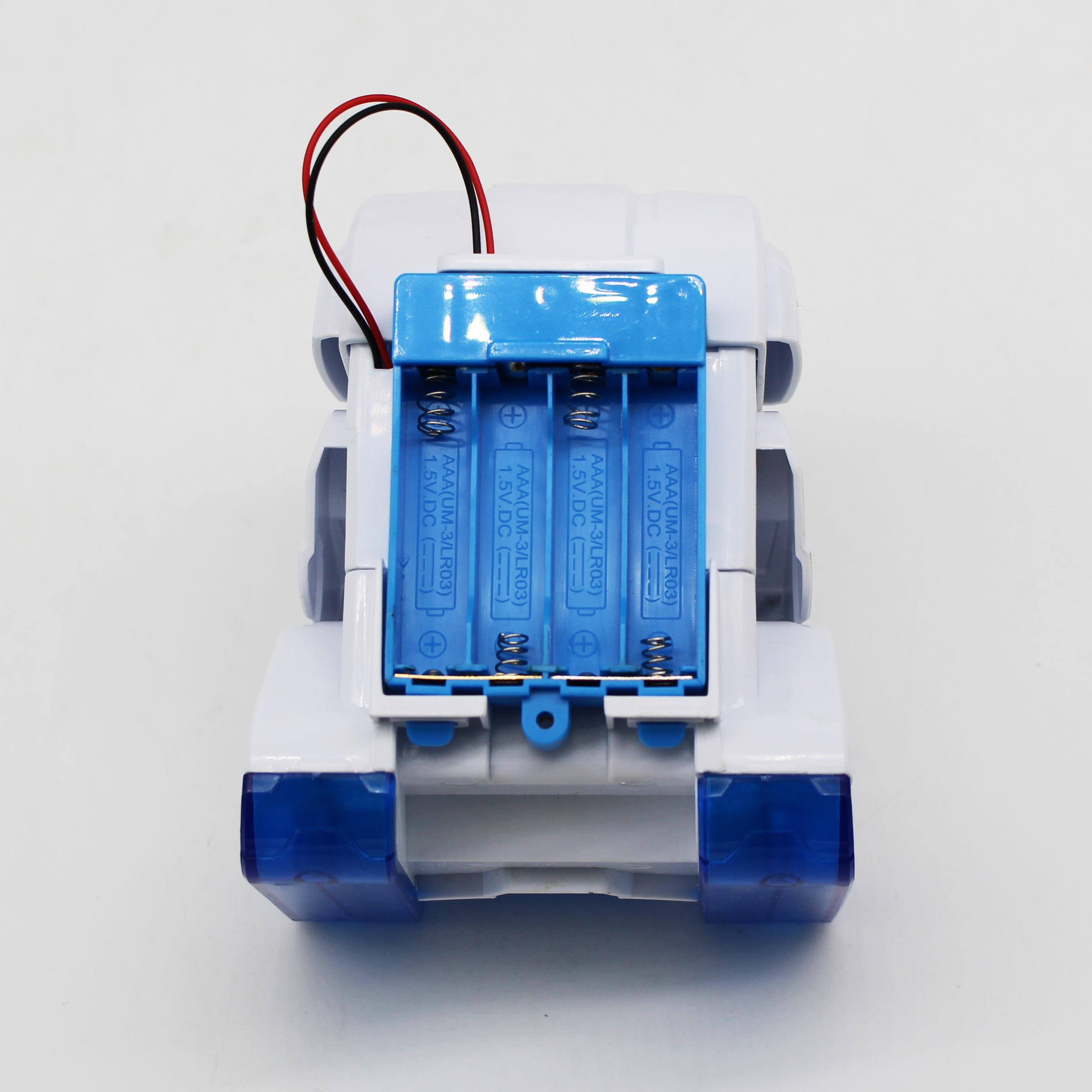 DIY vacuum cleaner robot STEM toys for children-CYHOBBY