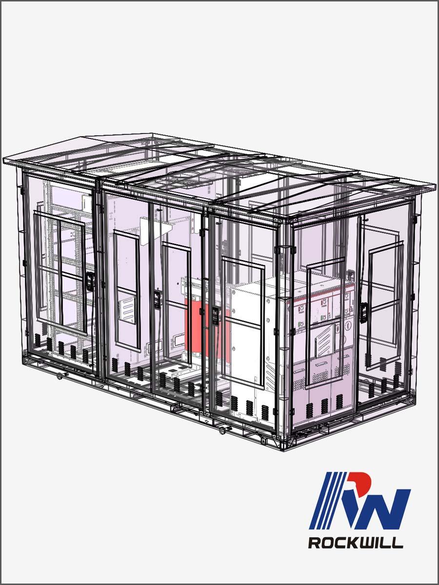 Box Type Prefabricated Power Distribution Substation EU