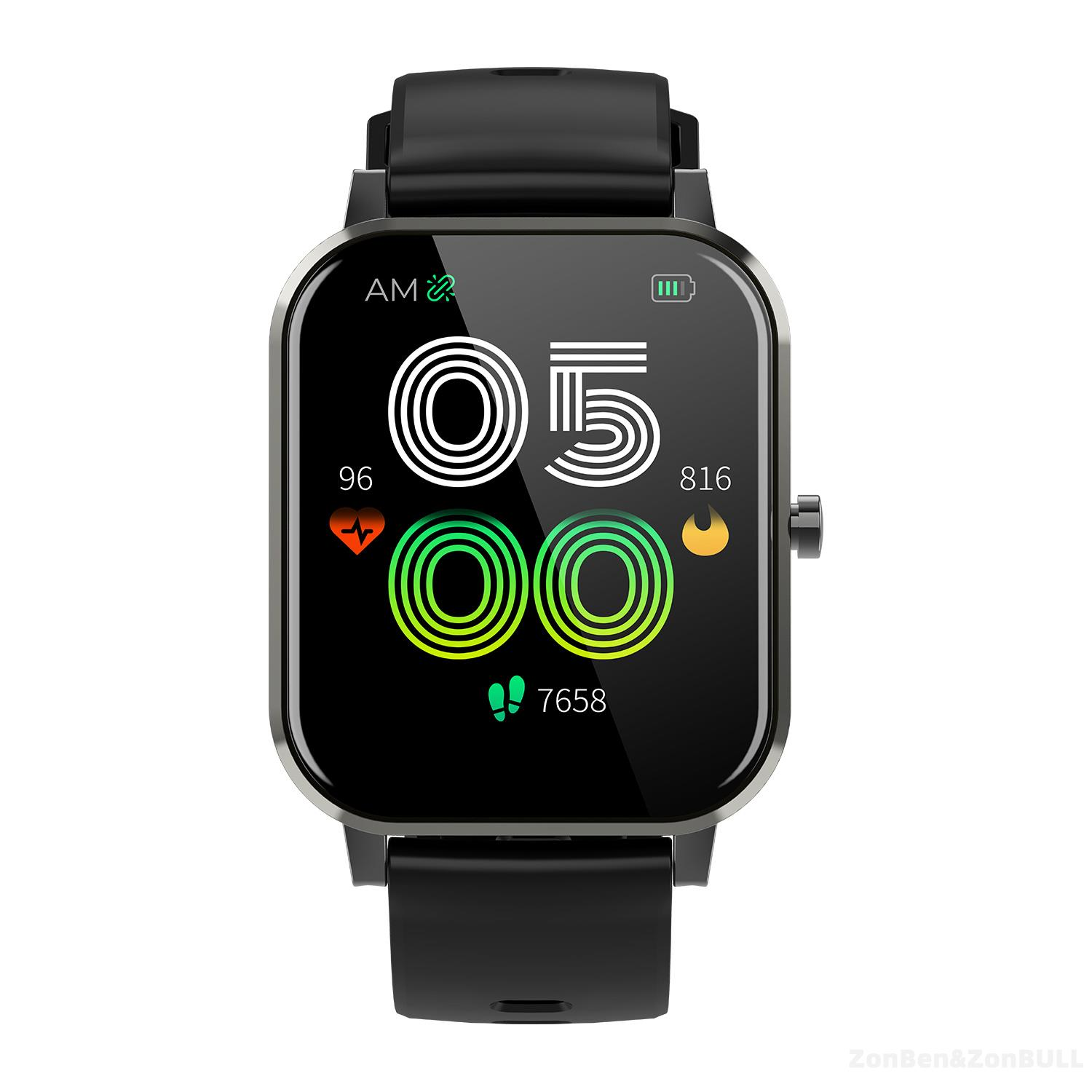 ZB-S37 Zonbull smartwatch (private model). Fitness Tracker Heart Rate Blood Pressure
